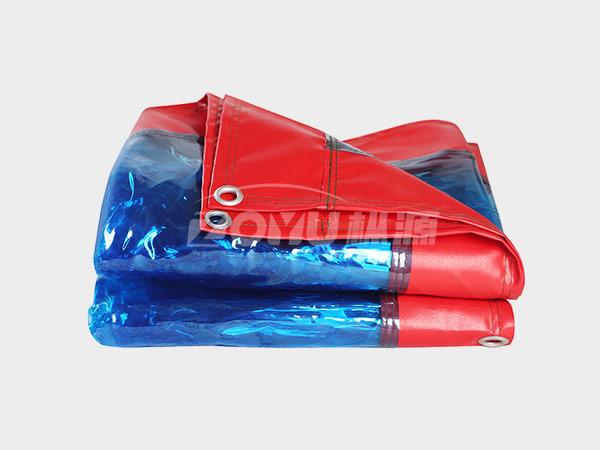 PVC透明雨布